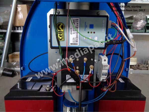 Nuovo pannello impianti per mini elevatore NewBingo