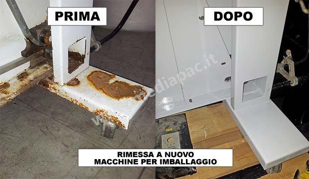 RIMESSA A NUOVO MACCHINE PER IMBALLAGGIO